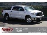 2012 Super White Toyota Tundra SR5 TRD CrewMax 4x4 #63848202