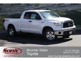 2012 Super White Toyota Tundra TRD Double Cab 4x4 #63848201