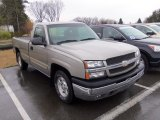2003 Light Pewter Metallic Chevrolet Silverado 1500 LS Regular Cab #63848194