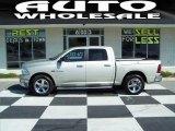 2009 Bright Silver Metallic Dodge Ram 1500 Big Horn Edition Crew Cab #63848310