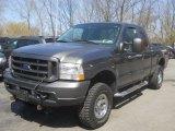 2003 Dark Shadow Grey Metallic Ford F250 Super Duty FX4 SuperCab 4x4 #63848407