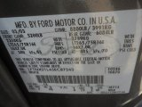 2003 F250 Super Duty Color Code for Dark Shadow Grey Metallic - Color Code: CX