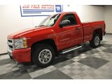 2010 Victory Red Chevrolet Silverado 1500 LS Regular Cab #63867401
