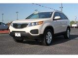 2011 White Sand Beige Kia Sorento LX V6 #63871491