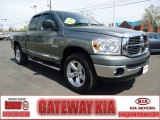 2008 Mineral Gray Metallic Dodge Ram 1500 Big Horn Edition Quad Cab 4x4 #63871705