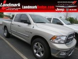 2010 Light Graystone Pearl Dodge Ram 1500 Big Horn Quad Cab #63871251