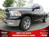 2012 Black Dodge Ram 1500 Big Horn Crew Cab #63871240