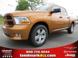 2012 Tequila Sunrise Pearl Dodge Ram 1500 Express Crew Cab #63871239