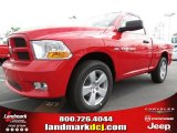 2012 Flame Red Dodge Ram 1500 Express Regular Cab #63871238