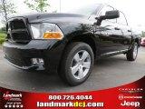 2012 Black Dodge Ram 1500 Express Crew Cab #63871237