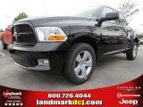 2012 Black Dodge Ram 1500 Express Crew Cab #63871235