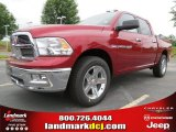 2012 Deep Cherry Red Crystal Pearl Dodge Ram 1500 Big Horn Crew Cab #63871234