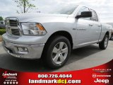 2012 Bright Silver Metallic Dodge Ram 1500 Big Horn Quad Cab #63871233