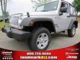 2012 Bright Silver Metallic Jeep Wrangler Sport 4x4 #63871213