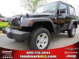 2012 Black Jeep Wrangler Sport 4x4 #63871212