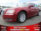 2012 Deep Cherry Red Crystal Pearl Chrysler 300  #63871211