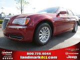 2012 Deep Cherry Red Crystal Pearl Chrysler 300  #63871208