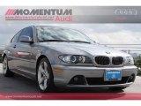 2004 Silver Grey Metallic BMW 3 Series 325i Coupe #63871673