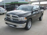 2012 Black Dodge Ram 1500 Lone Star Crew Cab 4x4 #63871435