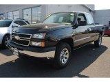 2006 Black Chevrolet Silverado 1500 LS Extended Cab 4x4 #63871174