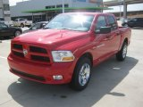 2012 Flame Red Dodge Ram 1500 Express Crew Cab #63871433