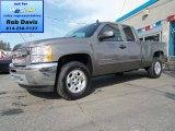 2012 Graystone Metallic Chevrolet Silverado 1500 LT Extended Cab 4x4 #63871169