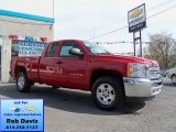 2012 Victory Red Chevrolet Silverado 1500 LT Extended Cab 4x4 #63871166