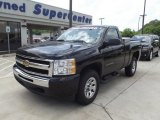 2011 Black Chevrolet Silverado 1500 LS Regular Cab 4x4 #63871415