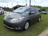 2011 Predawn Gray Mica Toyota Sienna Limited #63871412