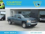 2007 Blue Granite Metallic Chevrolet Silverado 1500 LT Extended Cab 4x4 #63871640