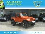 2010 Mango Tango Pearl Jeep Wrangler Sahara 4x4 #63871636