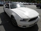 2011 Performance White Ford Mustang V6 Premium Convertible #63871382