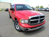 2005 Flame Red Dodge Ram 1500 SLT Quad Cab #63871372