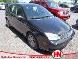 2005 Pitch Black Ford Focus ZX5 SE Hatchback #63870975