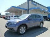 2012 Twilight Blue Metallic Honda CR-V EX-L 4WD #63871565