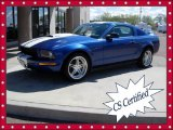 2006 Vista Blue Metallic Ford Mustang V6 Deluxe Coupe #63871320