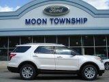 2013 White Platinum Tri-Coat Ford Explorer XLT #63871298