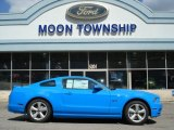 2013 Grabber Blue Ford Mustang GT Coupe #63871296