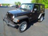 2012 Black Jeep Wrangler Sport 4x4 #63871517