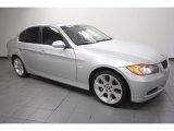 2008 Titanium Silver Metallic BMW 3 Series 335xi Sedan #63914171
