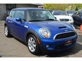 2007 Lightning Blue Metallic Mini Cooper S Hardtop #63913815