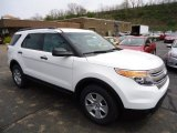 2013 Oxford White Ford Explorer FWD #63913780