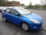 2012 Blue Candy Metallic Ford Focus SE Sedan #63913771