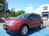 2013 Ruby Red Metallic Ford Explorer XLT #63913751