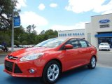 2012 Race Red Ford Focus SE Sport Sedan #63913741