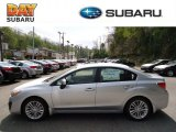 2012 Ice Silver Metallic Subaru Impreza 2.0i Premium 4 Door #63913733