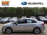 2012 Ice Silver Metallic Subaru Impreza 2.0i Premium 4 Door #63913732