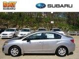 2012 Ice Silver Metallic Subaru Impreza 2.0i 4 Door #63913728