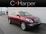 2010 Red Jewel Tintcoat Buick Enclave CXL AWD #63914413