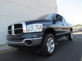 2007 Patriot Blue Pearl Dodge Ram 1500 ST Quad Cab 4x4 #63914403